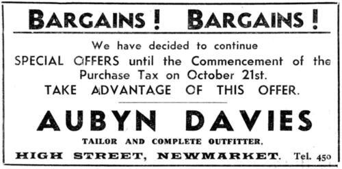 ad 1940 aubyn davies