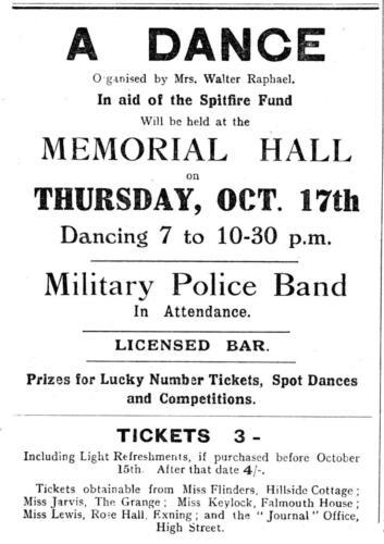 ad 1940 dance