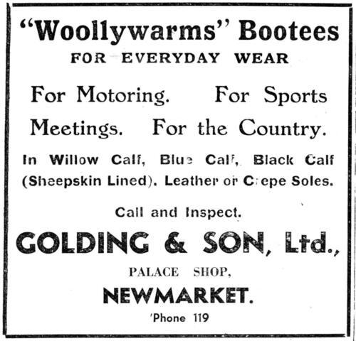 ad 1940 golding