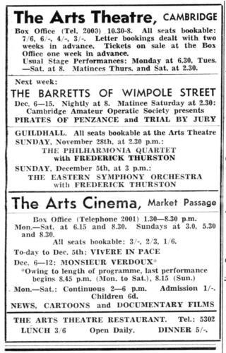 ad 1948 arts theatre