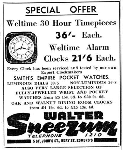 ad 1948 sneezum