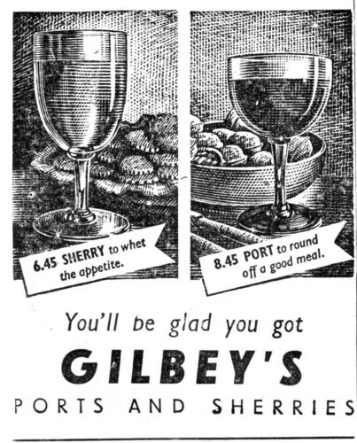 ad 1948 gilbeys