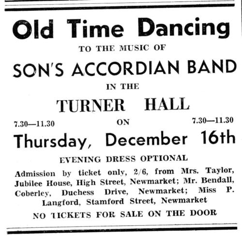 ad 1948 old time dancing